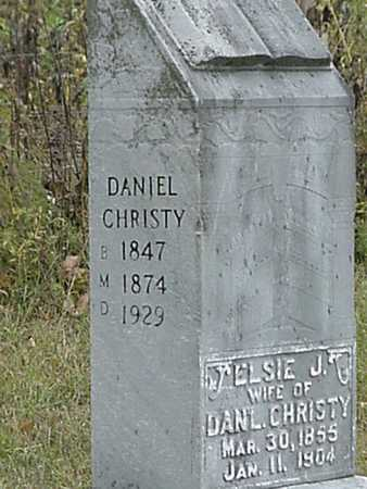 CHRISTY, DANIEL - Davis County, Iowa | DANIEL CHRISTY