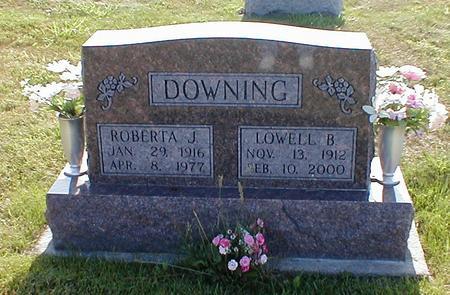 DOWNING, ROBERTA J. - Davis County, Iowa | ROBERTA J. DOWNING