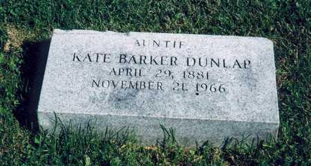 BARKER DUNLAP, KATE - Davis County, Iowa | KATE BARKER DUNLAP