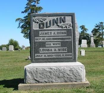 DUNN, LOUISA A. - Davis County, Iowa | LOUISA A. DUNN
