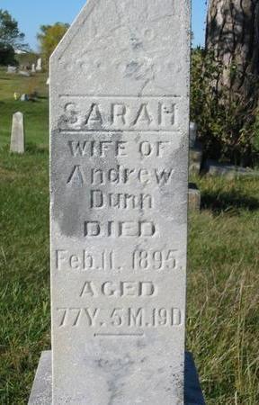 DUNN, SARAH - Davis County, Iowa | SARAH DUNN