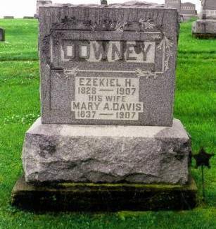 DOWNEY, EZEKIAL & MARY  DAVIS - Davis County, Iowa | EZEKIAL & MARY  DAVIS DOWNEY