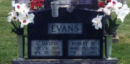 EVANS, MAXINE A. - Davis County, Iowa | MAXINE A. EVANS