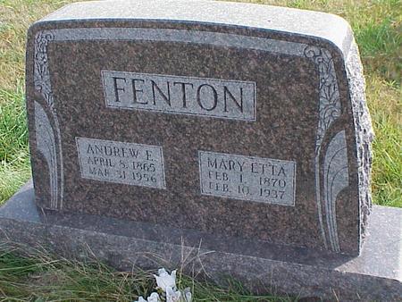 FENTON, ANDREW - Davis County, Iowa | ANDREW FENTON