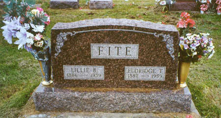 FITE, ELDRIDGE T. - Davis County, Iowa | ELDRIDGE T. FITE