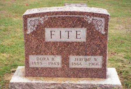 MCCLEARY FITE, DORA BELLE - Davis County, Iowa | DORA BELLE MCCLEARY FITE