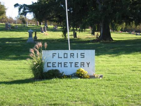 FLORIS, CEMETERY - Davis County, Iowa | CEMETERY FLORIS