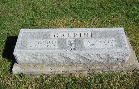 GALPIN, A. GOLDIE - Davis County, Iowa | A. GOLDIE GALPIN
