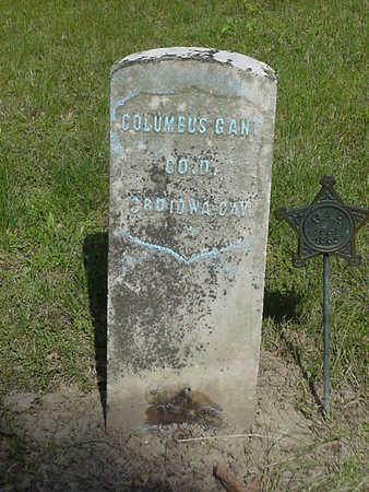 GANT, COLUMBUS - Davis County, Iowa | COLUMBUS GANT