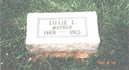 GARRETT, LILLIE E. LAW - Davis County, Iowa | LILLIE E. LAW GARRETT