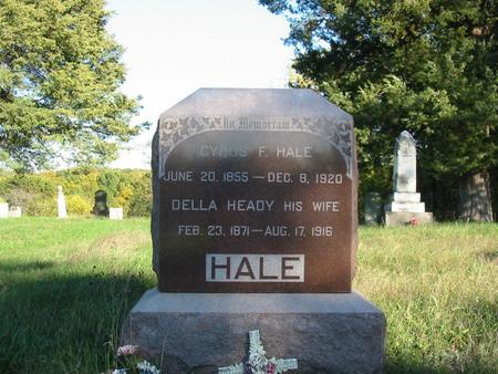 HALE, DRUZILLA BELLE - Davis County, Iowa | DRUZILLA BELLE HALE