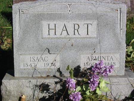 HART, ISAAC - Davis County, Iowa | ISAAC HART