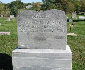 HART, J.R. - Davis County, Iowa | J.R. HART