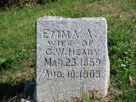 HEADY, EMMA A. - Davis County, Iowa | EMMA A. HEADY