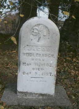HEIDLEBAUGH, JACOB - Davis County, Iowa   JACOB HEIDLEBAUGH