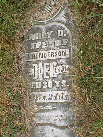 HENDERSON, EMILY DEMON - Davis County, Iowa | EMILY DEMON HENDERSON