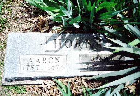 HORN, ANNA - Davis County, Iowa   ANNA HORN