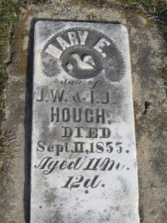 HOUGH, MARY E. - Davis County, Iowa | MARY E. HOUGH