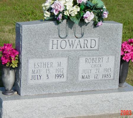 HOWARD, ROBERT & ESTHER - Davis County, Iowa | ROBERT & ESTHER HOWARD