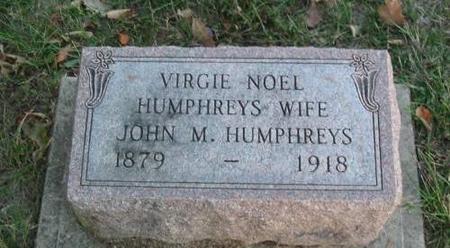 HUMPHREYS, VIRGIE NOEL - Davis County, Iowa | VIRGIE NOEL HUMPHREYS