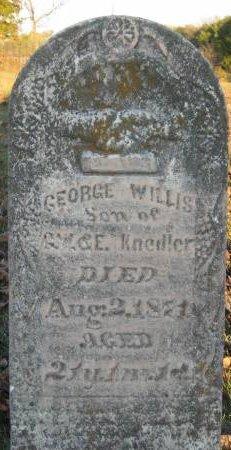 KNEDLER, GEORGE WILLIS - Davis County, Iowa | GEORGE WILLIS KNEDLER