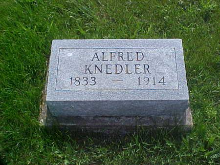 KNEEDLER, ALFRED - Davis County, Iowa | ALFRED KNEEDLER