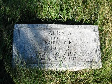 LEPPER, LAURA A. - Davis County, Iowa | LAURA A. LEPPER