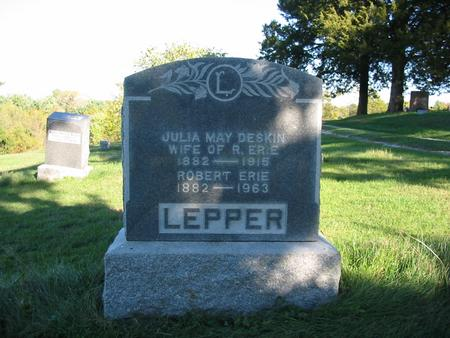 DESKIN LEPPER, JULIA MAY - Davis County, Iowa | JULIA MAY DESKIN LEPPER