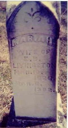 CLARK LIVINGSTON, MARIAH - Davis County, Iowa | MARIAH CLARK LIVINGSTON
