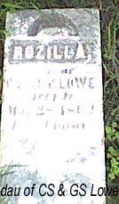 LOWE, ROZILLA - Davis County, Iowa | ROZILLA LOWE