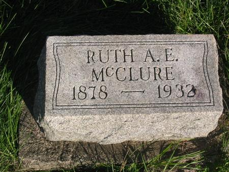 MCCLURE, RUTH A.E. - Davis County, Iowa | RUTH A.E. MCCLURE