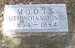 MOOTS, RUTHINDIA - Davis County, Iowa | RUTHINDIA MOOTS