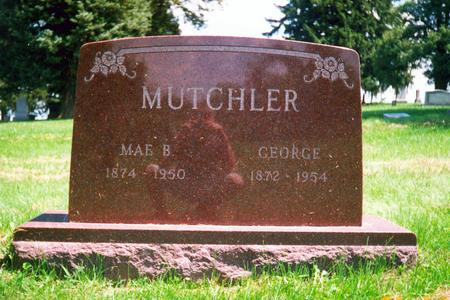 BENGE MUTCHLER, MAE - Davis County, Iowa | MAE BENGE MUTCHLER