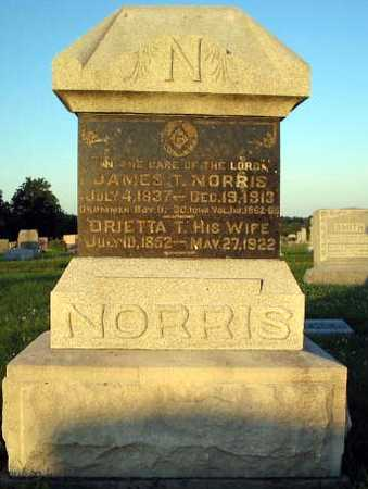 NORRIS, JAMES & BRIETTA - Davis County, Iowa   JAMES & BRIETTA NORRIS