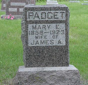 PADGET, MARY ELIZABETH - Davis County, Iowa | MARY ELIZABETH PADGET