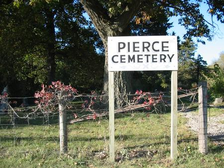 PIERCE, CEMETERY - Davis County, Iowa | CEMETERY PIERCE