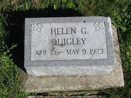 QUIGLEY, HELEN G. - Davis County, Iowa | HELEN G. QUIGLEY