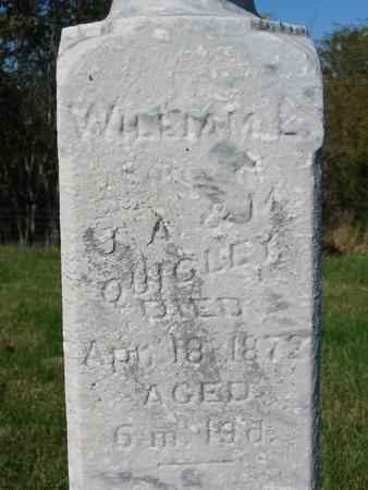 QUIGLEY, WILLIAM L. - Davis County, Iowa | WILLIAM L. QUIGLEY