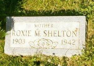 SHELTON, ROXIE - Davis County, Iowa | ROXIE SHELTON