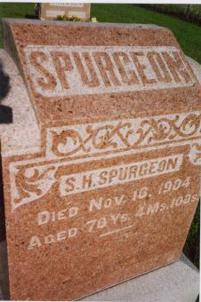 SPURGEON, SAMUEL HENRY - Davis County, Iowa | SAMUEL HENRY SPURGEON