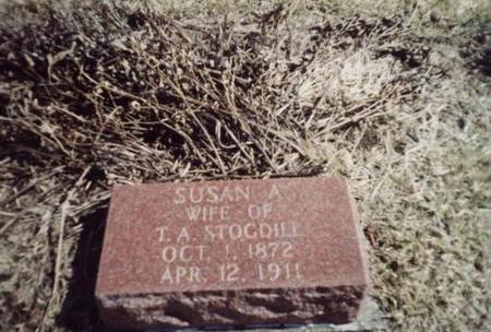 STOGDILL, SUSAN A (ARNOLD) - Davis County, Iowa | SUSAN A (ARNOLD) STOGDILL