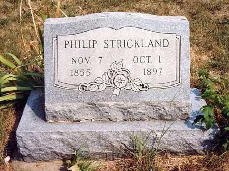 STRICKLAND, PHILIP MARION - Davis County, Iowa | PHILIP MARION STRICKLAND
