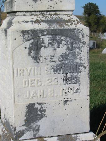 SWINNEY, MARY J. - Davis County, Iowa | MARY J. SWINNEY