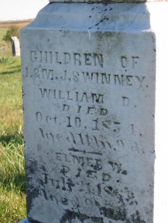 SWINNEY, ELMER W. - Davis County, Iowa | ELMER W. SWINNEY