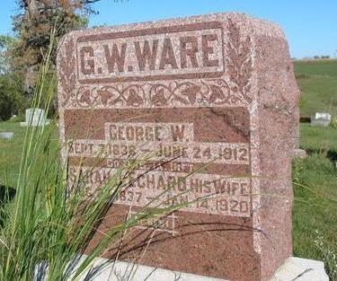 ECHARD WARE, SARAH J. - Davis County, Iowa   SARAH J. ECHARD WARE
