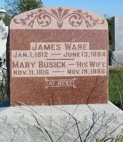 BUSICK WARE, MARY - Davis County, Iowa | MARY BUSICK WARE