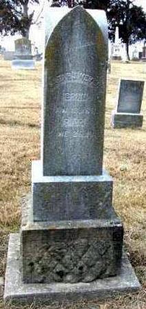 WEYER, SARAH JANE GARRETT - Davis County, Iowa   SARAH JANE GARRETT WEYER