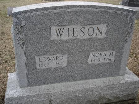 WILSON, NORA M. - Davis County, Iowa   NORA M. WILSON