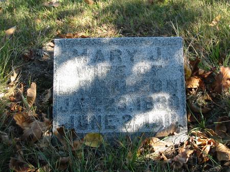 PLACE WILSON, MARY JANE - Davis County, Iowa | MARY JANE PLACE WILSON