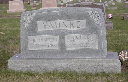 YAHNKE, EDITH - Davis County, Iowa | EDITH YAHNKE